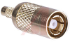 Connector; SMB; 50 Ohms; Straight; Goldover Nickel; Brass; Teflon; Coaxial -- 70083296