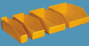 Corrugated Plastic Bins -- 54147