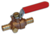 1/2 in. to 1 in. Full Port Ball Valve with Waste Drain -- WPBVD - Image