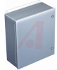 ENCLOSURE;NEMA 4;CONTINUOUS HINGE;QTR TURN LATCH;J BOX;10 X10 X6 ;STEEL;GRAY -- 70066842 - Image