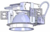 4000 Lumen LED Recessed Downlight -- 8VLB
