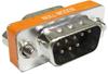 DB9 M/M Null Modem Mini Type Low Profile -- 30D1-C1-S