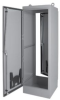 Steel Floor Mount Enclosure One Door, Single Access Door -- 78351025310-1