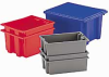 AKRO-MILS Stack and Nest Tote Boxes -- 4428800