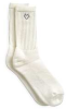 Athletic,Socks,Crew,Mens,XL,White,1 Pr -- 3XPZ6 - Image