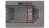 8 Position Die Set without Secondary Strain Relief use with all RJ45 & RJ45K Plugs -- HTS2100-08