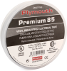 """Plymouth Rubber 4240 Premium 85 Professional Grade Vinyl Electrical Tape, 3/4"""" Wide, 66' Roll, Black -- 55163 -- View Larger Image"""