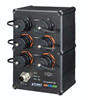 Industrial IP67 Rated 4-Port 10/100/1000T 802.3at PoE with 2-Port 10/100/1000T Managed Switch