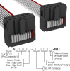 Rectangular Cable Assemblies -- A3DDH-1006G-ND -Image