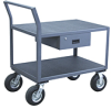 Angular Frame Instrument 2 Shelf Cart -- Model AD