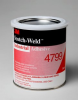 3M™ Scotch-Weld™ Industrial Adhesive 4799 Black, 1 Quart, 12 per case -- 4799