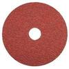 Dynabrade Coated Ceramic Fiber Disc - Coarse Grade - 50 Grit - 4 1/2 in Diameter - 7/8 in Center Hole - 79326 -- 616026-79326