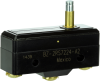 MICRO SWITCH BZ Series Premium Large Basic Switch, Single Pole Double Throw Circuitry, 1 A at 125 Vac, Medium Overtravel Plunger Actuator, Screw Termination, Gold Contacts, UL, CSA, ENEC -- BZ-2RS7224-A2 -Image