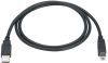 USB 2.0 Cable Type A Male to Type B Male Black 10-ft. -- USB05-0010 -- View Larger Image