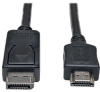DisplayPort to HD Cable Adapter (M/M), 3-ft. -- P582-003 - Image