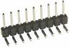 10 Pos. Male SIL Horizontal Throughboard Conn. -- M20-9751042 - Image