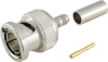Micro BNC Connectors, Straight Cable, Plugs -- BNC75P-1.5C2V - Image