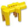 Small Prinzing Ball Valve Lockout (Yellow; 1/2