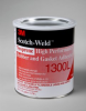 3M™ Scotch-Weld™ Neoprene High Performance Rubber and Gasket Adhesive 1300L Yellow, 1 gal, 4 per case -- 1300L