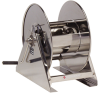 Hand Crank Medium Pressure Stainless Steel Hose Reel -- HS18000 M