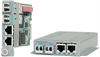 10/100/1000BASE-T to 100/1000BASE-X 2-Channel Ethernet Media Converter -- iConverter® 2GXT