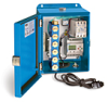 PurgeX Infrared Sensing Lubrication System with 6 Air-Operated PurgeX Pumps, Nema 12 Enclosure, 100-240VAC 50/60Hz -- B3651-106