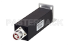 20 Watt RF Load Up to 2.7 GHz with N Male Black Anodized Aluminum -- PE6TR1020 -Image