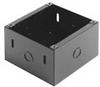 Backbox-Surface-4in Spkr, Steel, 6.25in Sq x 4in Deep -- P625X
