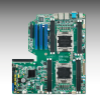 Dual LGA 2011 Intel® Xeon® E5-2600 (v2) EATX Server Board with DDR3, 3 PCIe x16 + 1 PCIe x8 (Gen 3.0), PME support -- ASMB-922 - Image