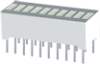 10 SEG.7G3R, LED BAR GRAPH -- DC7G3HWA - Image