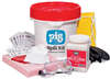 PIG Biohazard Spill Kit 46 Pieces, Absorbs up to 8.5 gal., Biohazard Spill Spill Kits PLS1850 -- PLS1850