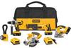 DEWALT 18 V Cordless 5-Tool Combo Kit -- Model# DCK550VX