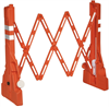 Multi-Gate Expandable Outdoor Barricade High Visibility Orange 18.5