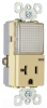 Combination Switch/Receptacle -- PS8-HWLI -- View Larger Image
