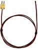 Digi-Sense Type-K, FEP-Insulated Probe, Coated Junct, Mini Conn, UnGRD, 10Ft 24-Gauge -- GO-08466-82