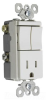 Combination Switch/Receptacle -- TM8118-TRLACC -- View Larger Image