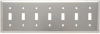 Blank Plate -- Box Mounted, Seven Gang -- SS6013 - Image