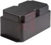 Enclosure;Box-Lid;Panel Mount;ABS;Black;8.25x5x4.33 In;Extended Lid;DC Series -- 70196570