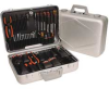 Electronics Tool Set,48 Pc,Attache Case -- 3MPE7