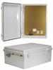 14x10x6 Inch 120 VAC ABS Weatherproof Enclosure -- NBE141006-100 -Image