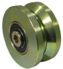 Machined Steel V Groove Wheel -- VMS6x2PS