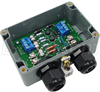 Weatherproof Lightning Surge Protector for RS-422/RS-485 & 12-28VAC Power Lines -- ALS-D25P1228AW