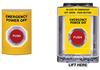 Entry-Guard™ Emergency Power Off Switch, Flush Mount Weatherproof -- ETG-EPO-FC
