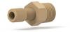 NPT Adapter Assembly PEEK 1/4 NPT Male x 5/16-24 Female -- U-503