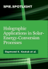 Holographic Applications in Solar-Energy-Conversion Processes -- ISBN: 9781510602137