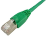 1' Cat6A Shielded Patch Cable, Green -- 603935