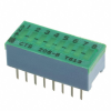 DIP Switches -- 206-8LPSTP-ND -- View Larger Image