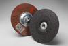 3M Aluminum Oxide Depressed-Center Wheel - 24 Grit Very Coarse Grade - 7 in Diameter - Thickness 1/4 in - 92315 -- 051135-92315 - Image