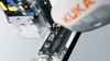 Robot-assisted Microscrew Screwdriver