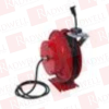 DURO HOSE REELS 2752 ( SERIES 2750 SINGLE ELECTRIC CORD REELS (SHOP) 30 AMPS, SINGLE REEL WITH 50 FT. 14/3 WIRE 15 AMP ) -- View Larger Image